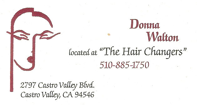 Donna Walton Business Card