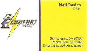 Business Card for Neil Resico